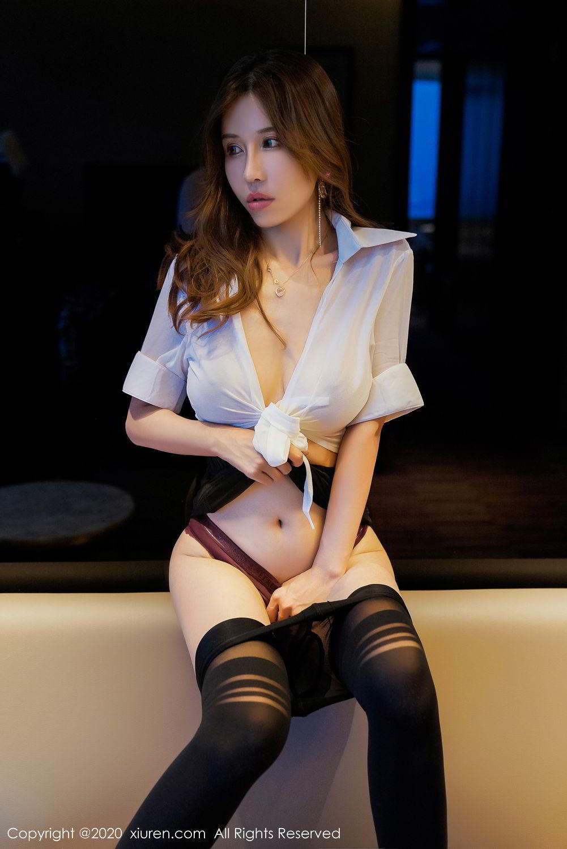[XiuRen] Vol.2253 Tian Xiao Yan 31P, Black Silk, Tian Xiao Yan, Underwear, Xiuren