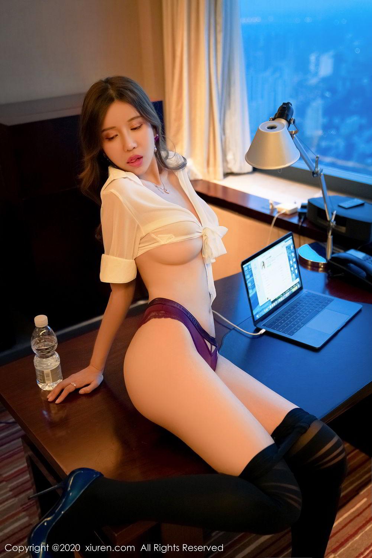 [XiuRen] Vol.2253 Tian Xiao Yan 38P, Black Silk, Tian Xiao Yan, Underwear, Xiuren