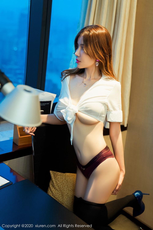 [XiuRen] Vol.2253 Tian Xiao Yan 6P, Black Silk, Tian Xiao Yan, Underwear, Xiuren