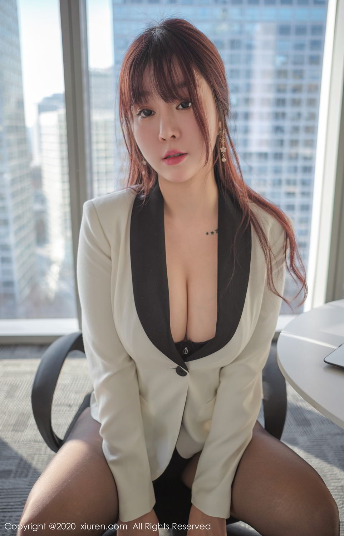 [XiuRen] Vol.2259 Wang Yu Chun 47P, Black Silk, Mature, Underwear, Wang Yu Chun, Xiuren