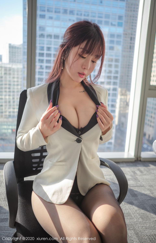 [XiuRen] Vol.2259 Wang Yu Chun 48P, Black Silk, Mature, Underwear, Wang Yu Chun, Xiuren
