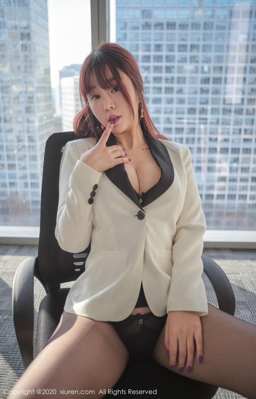 [XiuRen] Vol.2259 Wang Yu Chun 49P, Black Silk, Mature, Underwear, Wang Yu Chun, Xiuren