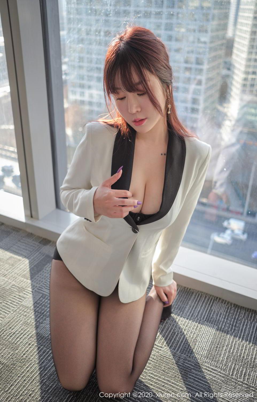 [XiuRen] Vol.2259 Wang Yu Chun 52P, Black Silk, Mature, Underwear, Wang Yu Chun, Xiuren