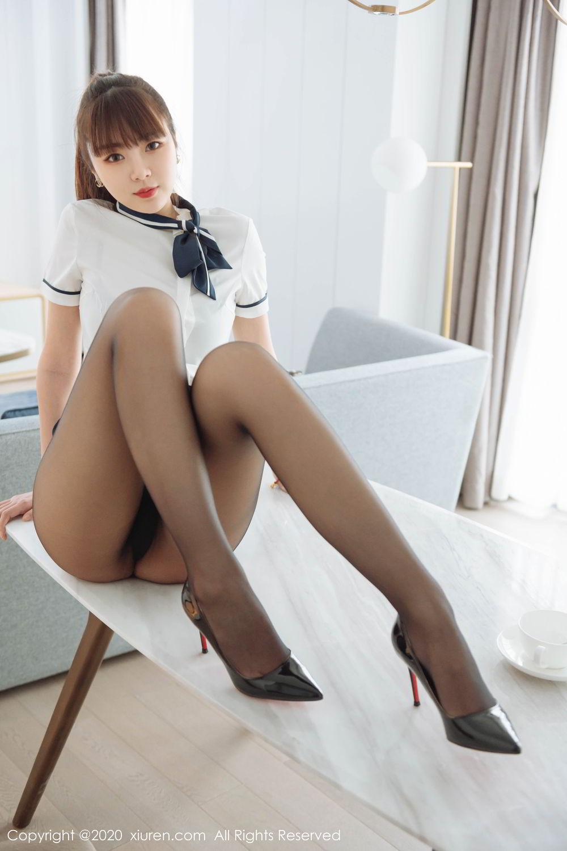 [XiuRen] Vol.2261 Ke Le Vicky 29P, Black Silk, Ke Le Vicky, Pure, Tall, Uniform, Xiuren