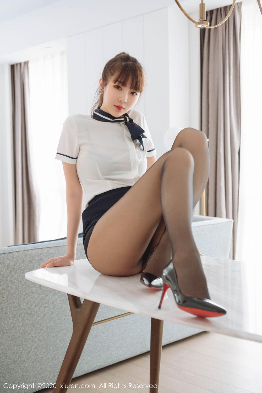 [XiuRen] Vol.2261 Ke Le Vicky 31P, Black Silk, Ke Le Vicky, Pure, Tall, Uniform, Xiuren