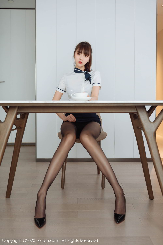 [XiuRen] Vol.2261 Ke Le Vicky 8P, Black Silk, Ke Le Vicky, Pure, Tall, Uniform, Xiuren