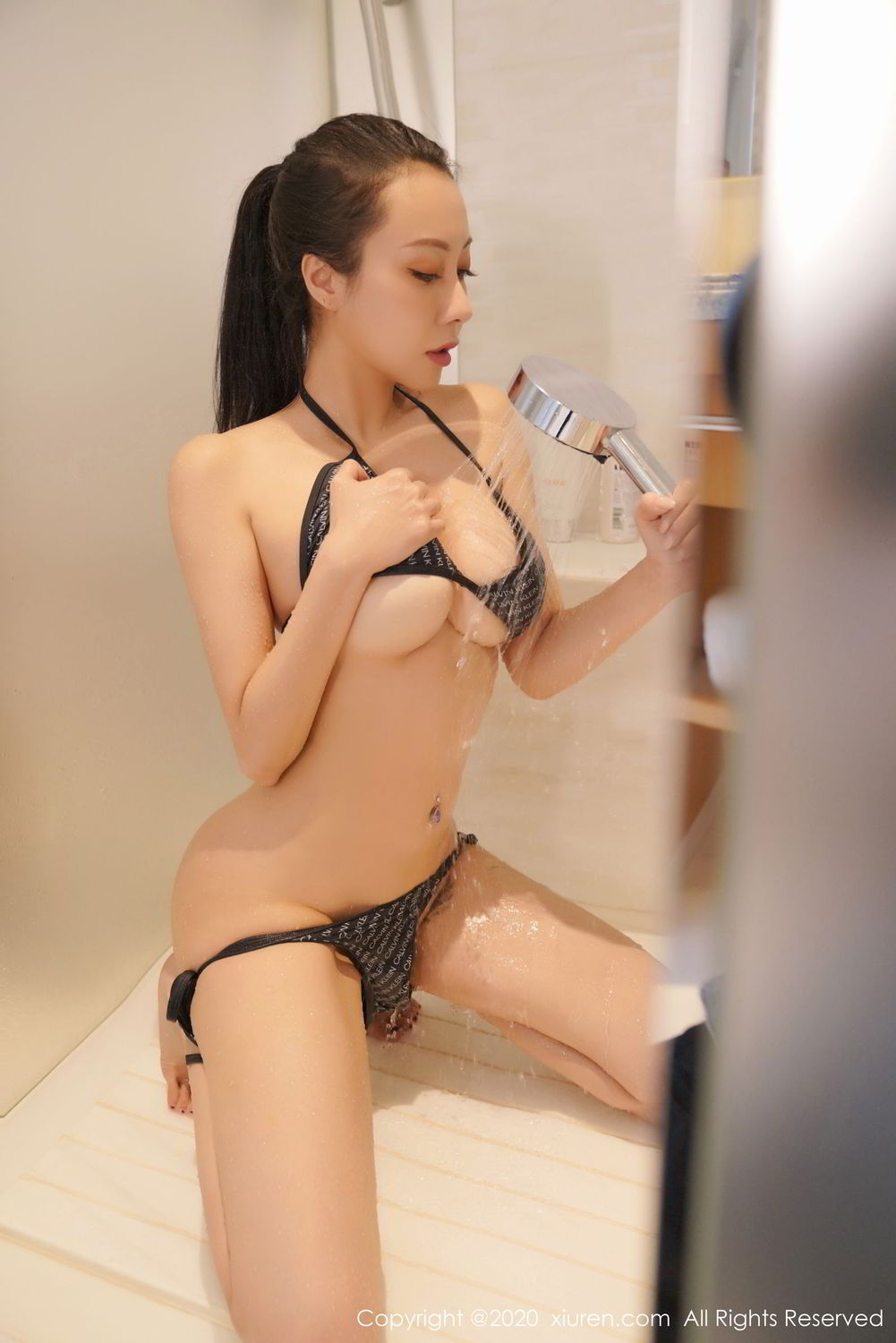[XiuRen] Vol.2264 Song Guo Er 36P, Bathroom, Bikini, Song Guo Er, Wet, Xiuren