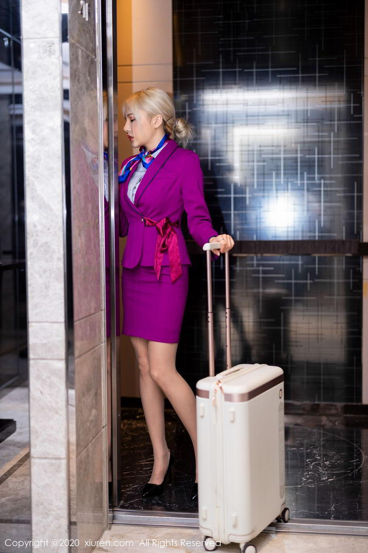 [XiuRen] Vol.2266 Wang Zhao Lu 10P, Stewardess, Wang Zhao Lu, Xiuren