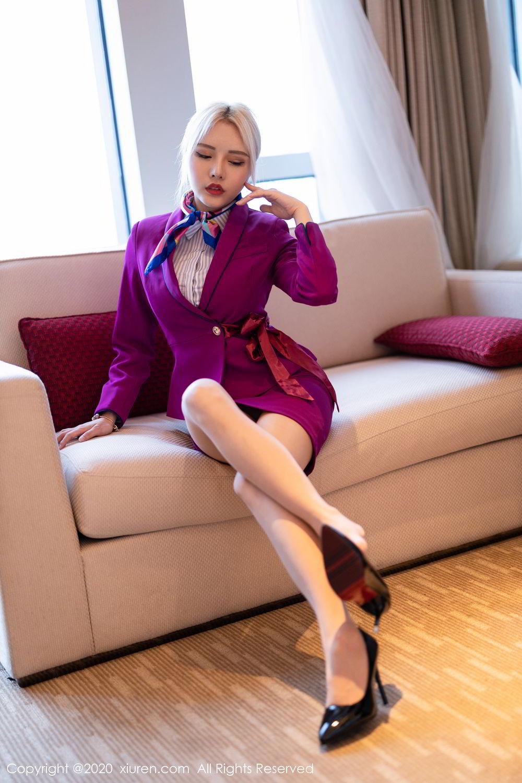 [XiuRen] Vol.2266 Wang Zhao Lu 16P, Stewardess, Wang Zhao Lu, Xiuren