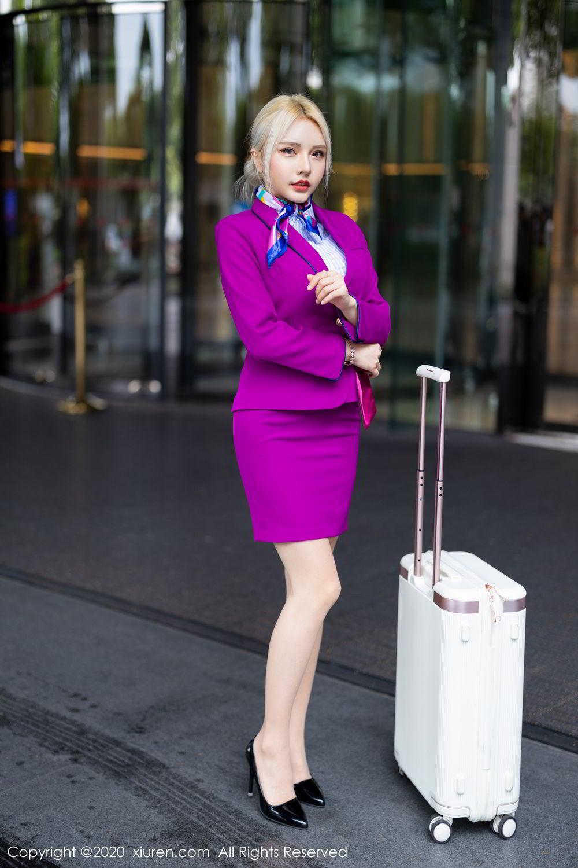 [XiuRen] Vol.2266 Wang Zhao Lu 1P, Stewardess, Wang Zhao Lu, Xiuren