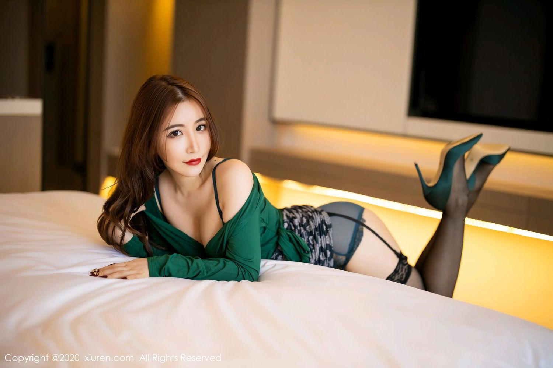 [XiuRen] Vol.2271 Xie Zhi Xin 11P, Black Silk, Tall, Underwear, Xie Zhi Xin, Xiuren