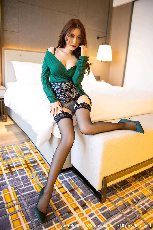 [XiuRen] Vol.2271 Xie Zhi Xin 15P, Black Silk, Tall, Underwear, Xie Zhi Xin, Xiuren