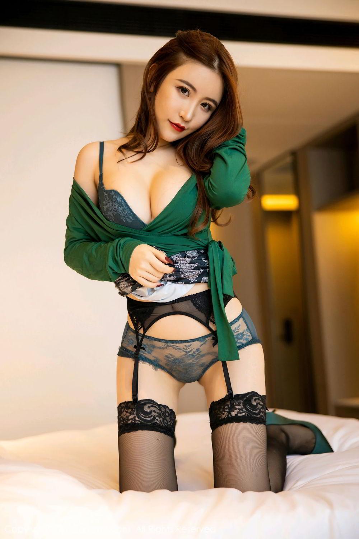 [XiuRen] Vol.2271 Xie Zhi Xin 29P, Black Silk, Tall, Underwear, Xie Zhi Xin, Xiuren