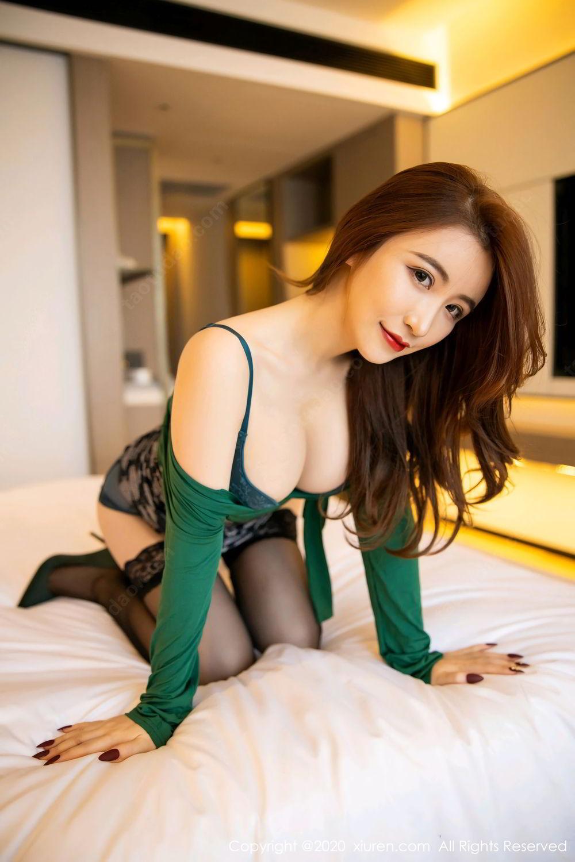 [XiuRen] Vol.2271 Xie Zhi Xin 31P, Black Silk, Tall, Underwear, Xie Zhi Xin, Xiuren
