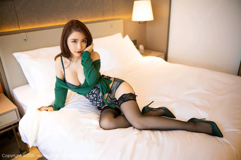 [XiuRen] Vol.2271 Xie Zhi Xin 36P, Black Silk, Tall, Underwear, Xie Zhi Xin, Xiuren