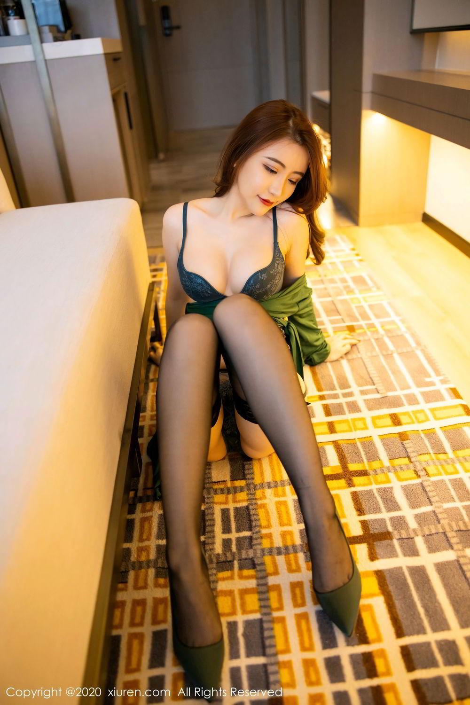 [XiuRen] Vol.2271 Xie Zhi Xin 41P, Black Silk, Tall, Underwear, Xie Zhi Xin, Xiuren