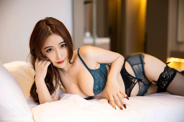 [XiuRen] Vol.2271 Xie Zhi Xin 51P, Black Silk, Tall, Underwear, Xie Zhi Xin, Xiuren