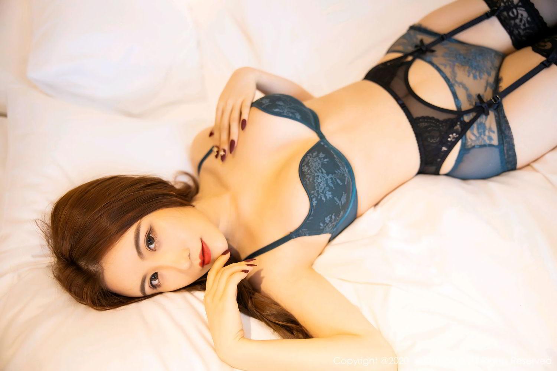 [XiuRen] Vol.2271 Xie Zhi Xin 52P, Black Silk, Tall, Underwear, Xie Zhi Xin, Xiuren