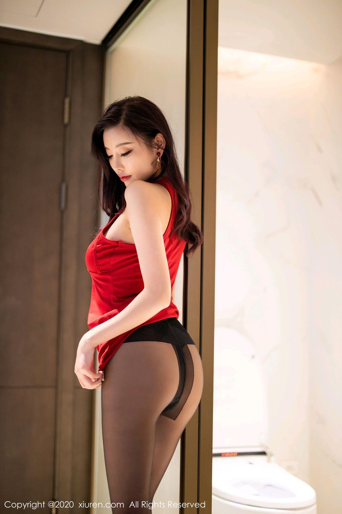 [XiuRen] Vol.2274 Yang Chen Chen 11P, Black Silk, Tall, Xiuren, Yang Chen Chen