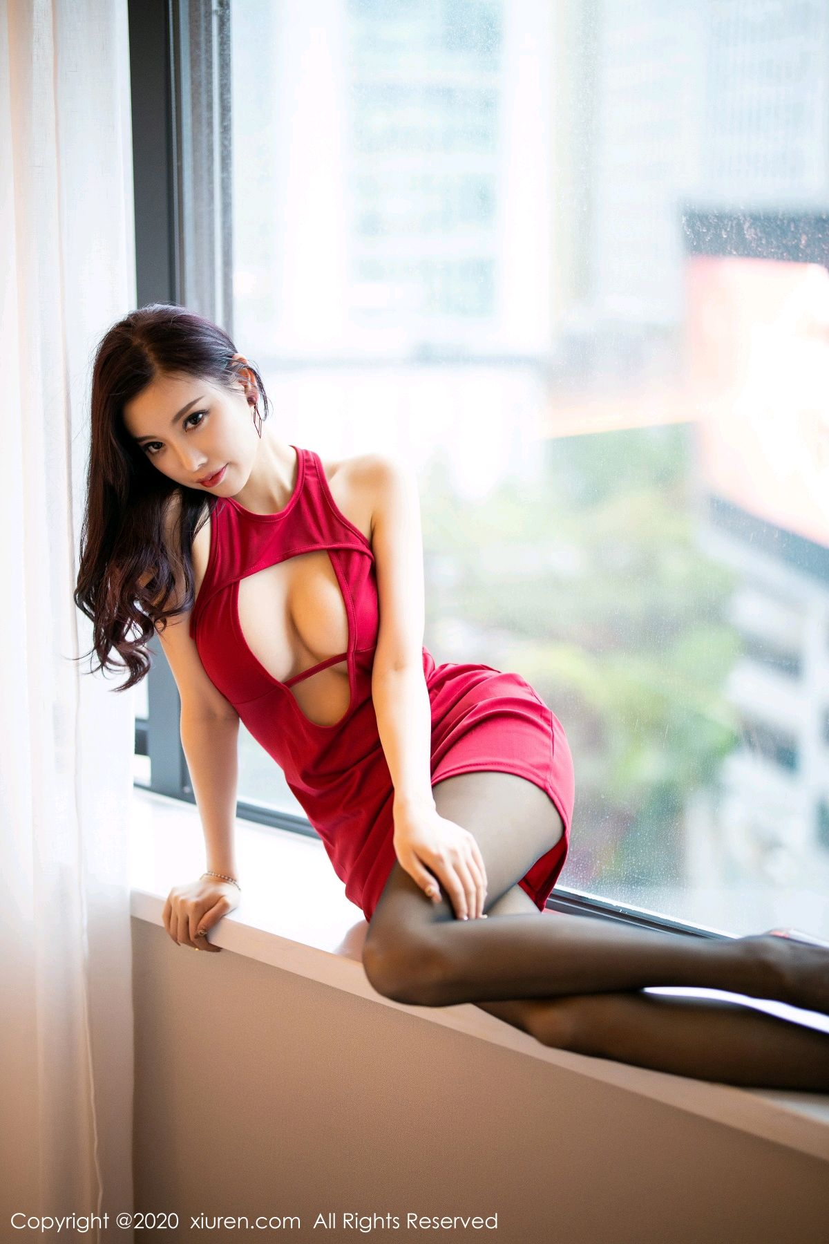 [XiuRen] Vol.2274 Yang Chen Chen 18P, Black Silk, Tall, Xiuren, Yang Chen Chen