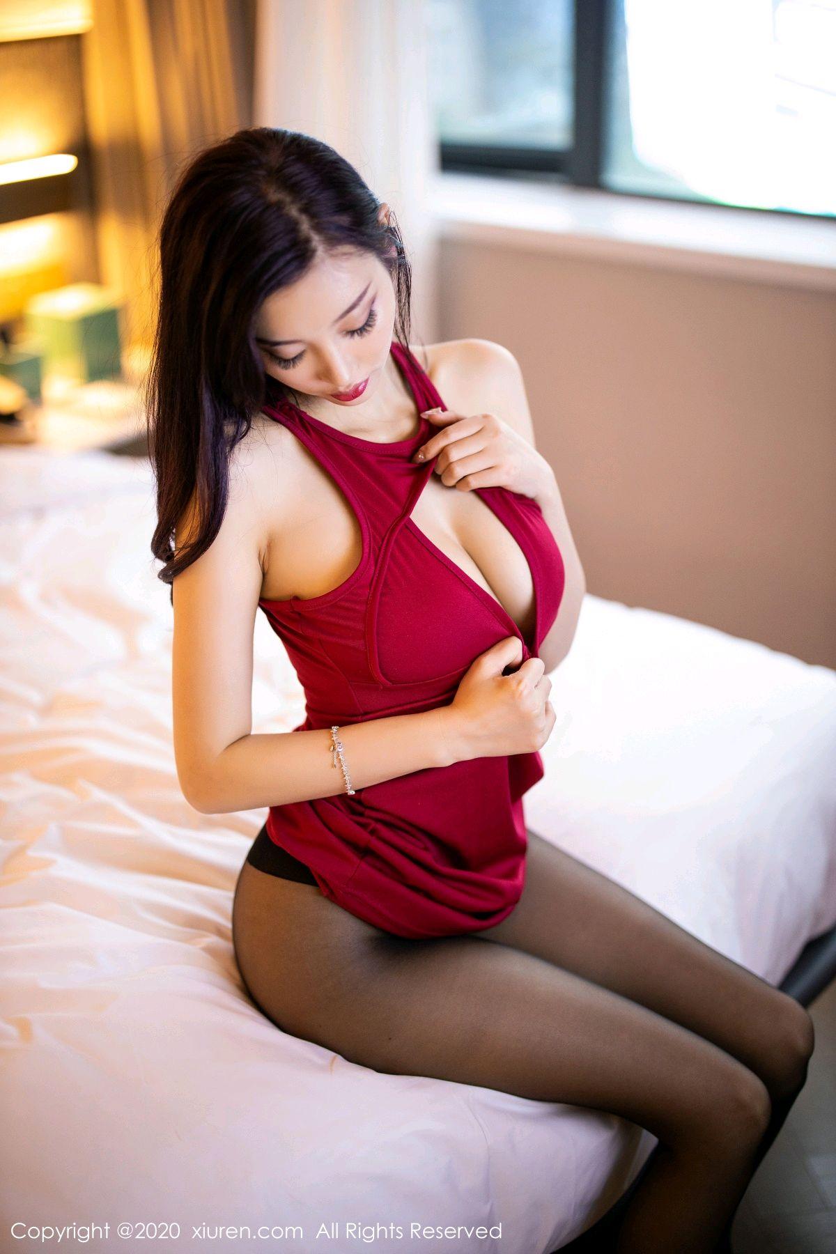 [XiuRen] Vol.2274 Yang Chen Chen 30P, Black Silk, Tall, Xiuren, Yang Chen Chen