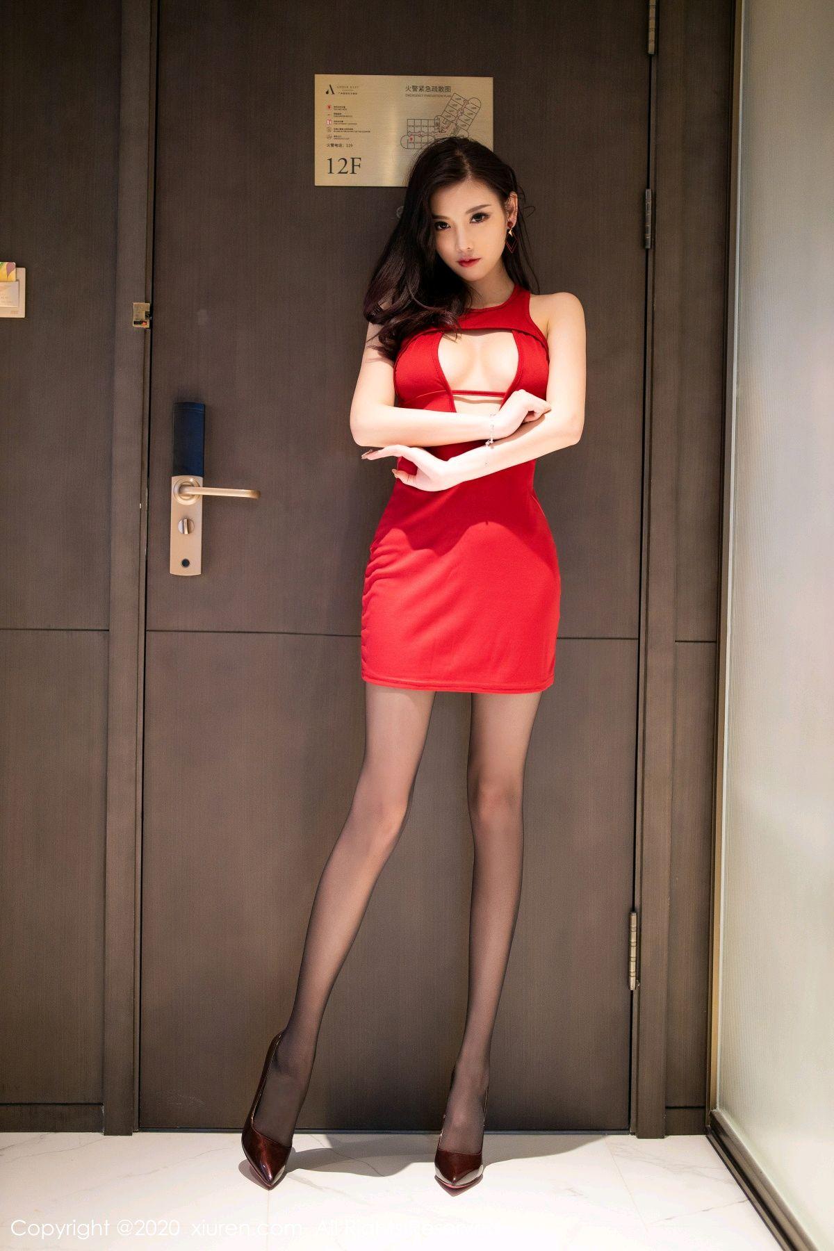 [XiuRen] Vol.2274 Yang Chen Chen 4P, Black Silk, Tall, Xiuren, Yang Chen Chen
