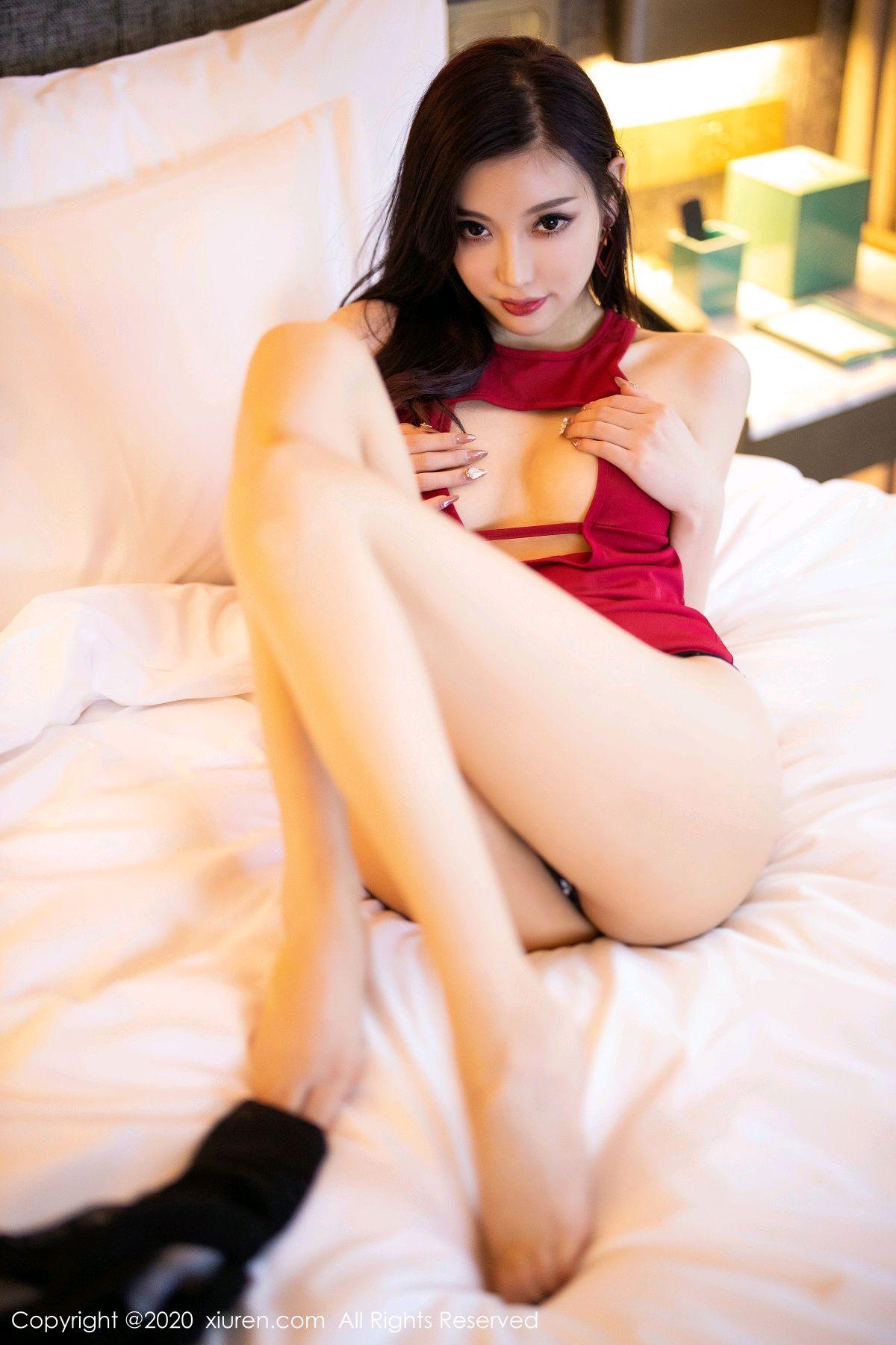 [XiuRen] Vol.2274 Yang Chen Chen 50P, Black Silk, Tall, Xiuren, Yang Chen Chen