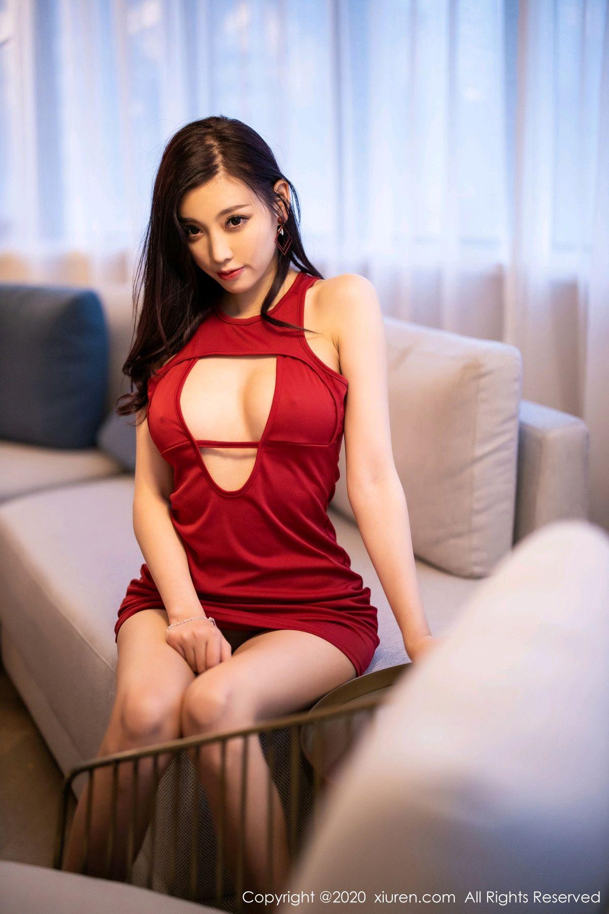 [XiuRen] Vol.2274 Yang Chen Chen 52P, Black Silk, Tall, Xiuren, Yang Chen Chen