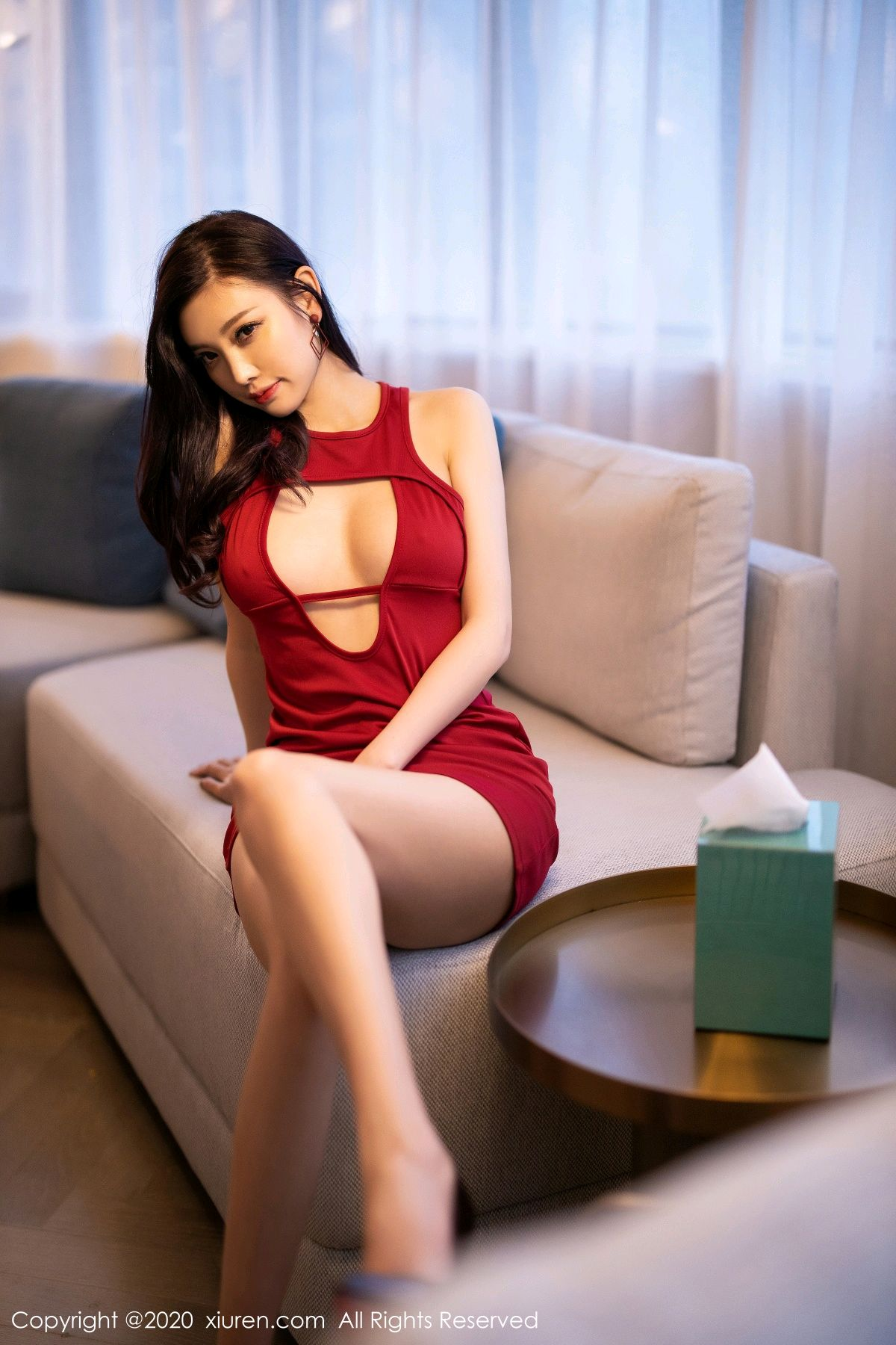 [XiuRen] Vol.2274 Yang Chen Chen 53P, Black Silk, Tall, Xiuren, Yang Chen Chen