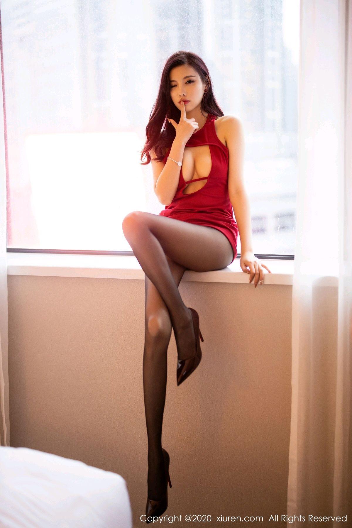 [XiuRen] Vol.2274 Yang Chen Chen 64P, Black Silk, Tall, Xiuren, Yang Chen Chen