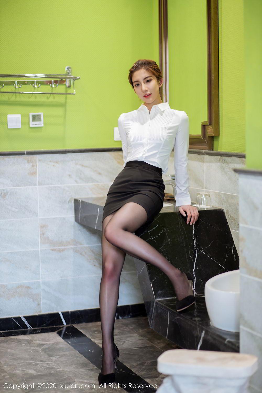 [XiuRen] Vol.2276 Lin Wen Wen 12P, Black Silk, Lin Wen Wen, Tall, Xiuren