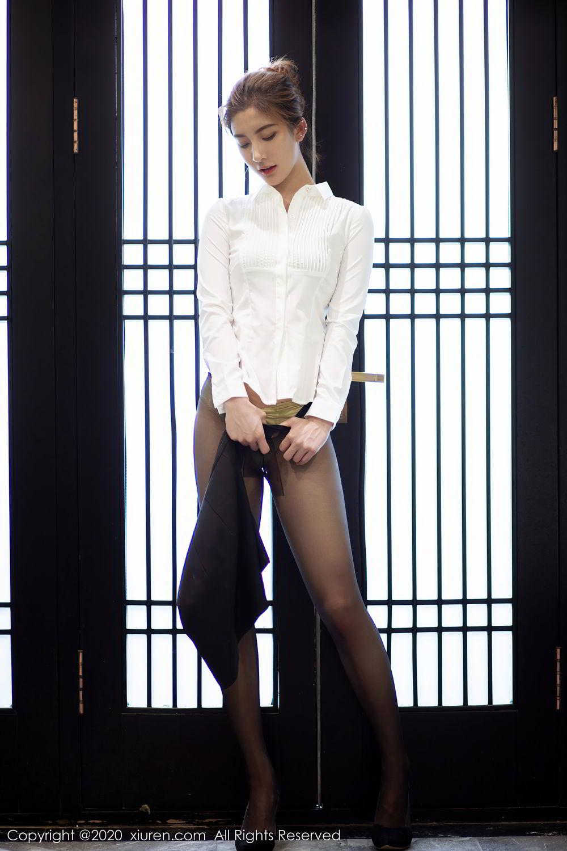 [XiuRen] Vol.2276 Lin Wen Wen 32P, Black Silk, Lin Wen Wen, Tall, Xiuren