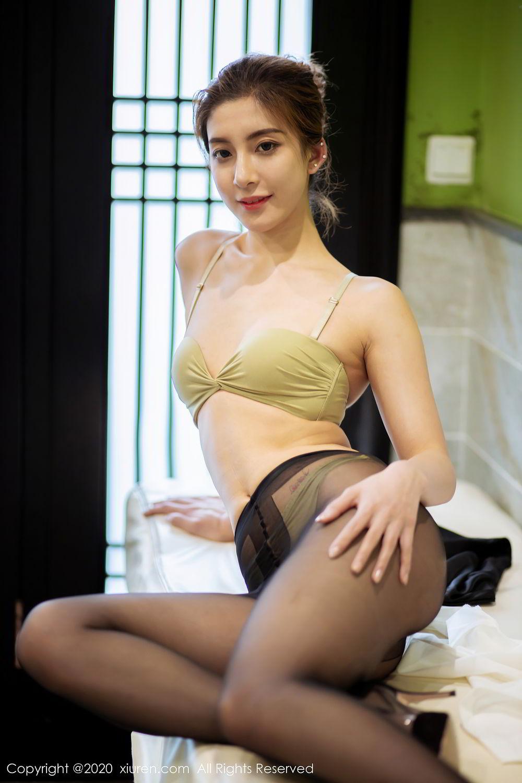 [XiuRen] Vol.2276 Lin Wen Wen 41P, Black Silk, Lin Wen Wen, Tall, Xiuren