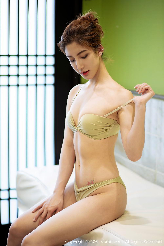 [XiuRen] Vol.2276 Lin Wen Wen 61P, Black Silk, Lin Wen Wen, Tall, Xiuren