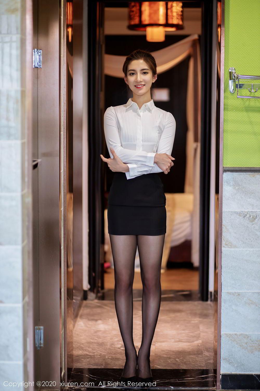 [XiuRen] Vol.2276 Lin Wen Wen 64P, Black Silk, Lin Wen Wen, Tall, Xiuren