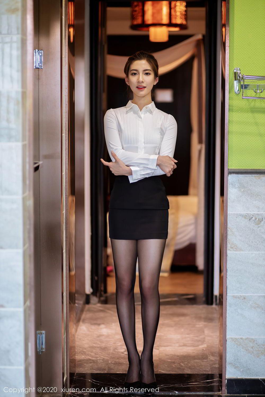 [XiuRen] Vol.2276 Lin Wen Wen 65P, Black Silk, Lin Wen Wen, Tall, Xiuren