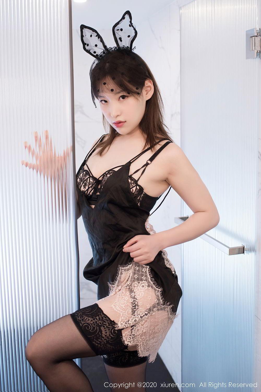 [XiuRen] Vol.2278 Xiao Xuan Fancy 18P, Bathroom, Black Silk, Underwear, Xiao Xuan Fancy, Xiuren