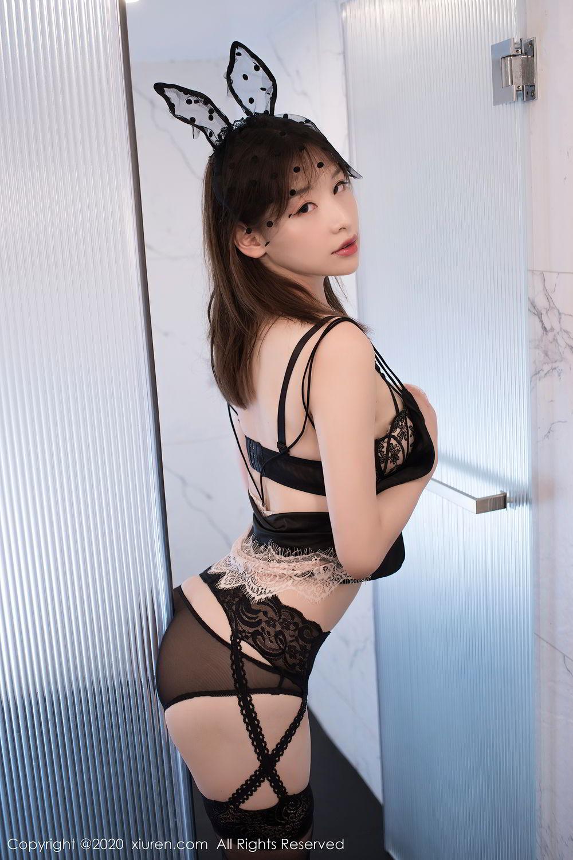 [XiuRen] Vol.2278 Xiao Xuan Fancy 19P, Bathroom, Black Silk, Underwear, Xiao Xuan Fancy, Xiuren