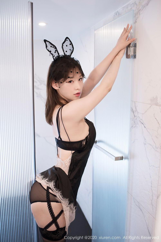 [XiuRen] Vol.2278 Xiao Xuan Fancy 20P, Bathroom, Black Silk, Underwear, Xiao Xuan Fancy, Xiuren