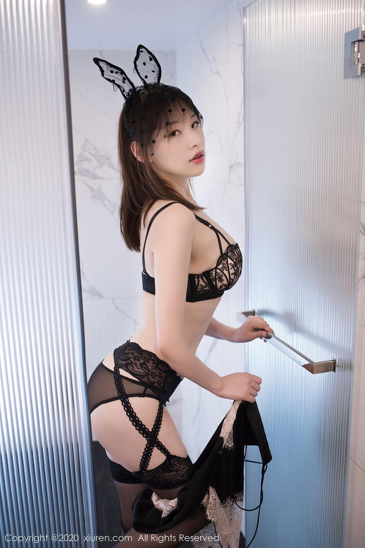 [XiuRen] Vol.2278 Xiao Xuan Fancy 27P, Bathroom, Black Silk, Underwear, Xiao Xuan Fancy, Xiuren