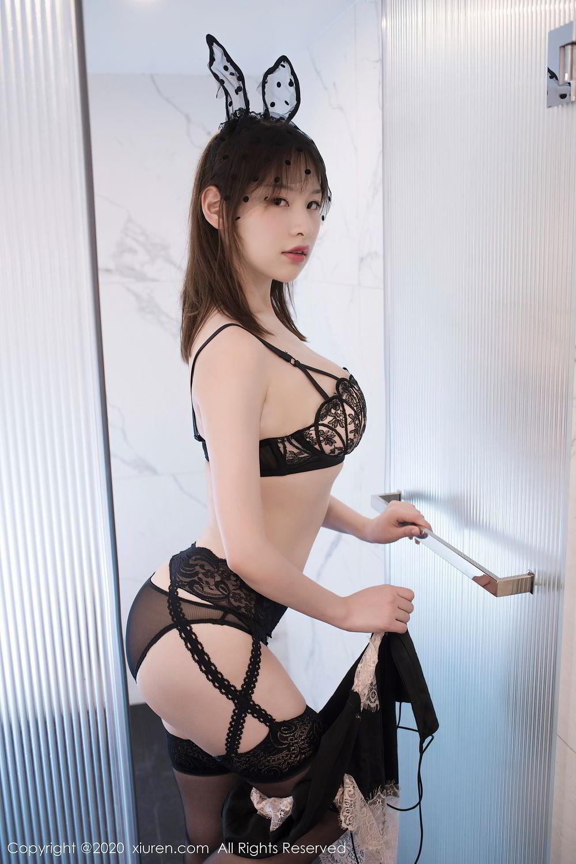 [XiuRen] Vol.2278 Xiao Xuan Fancy 28P, Bathroom, Black Silk, Underwear, Xiao Xuan Fancy, Xiuren