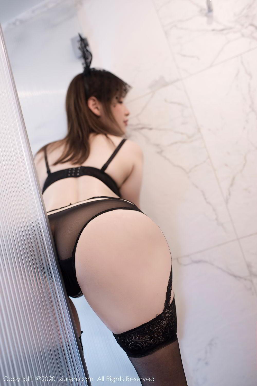 [XiuRen] Vol.2278 Xiao Xuan Fancy 32P, Bathroom, Black Silk, Underwear, Xiao Xuan Fancy, Xiuren
