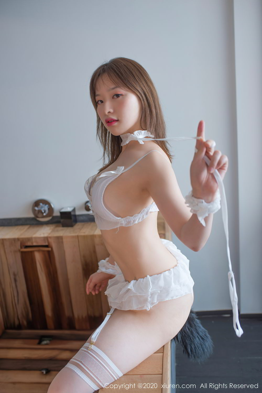[XiuRen] Vol.2278 Xiao Xuan Fancy 3P, Bathroom, Black Silk, Underwear, Xiao Xuan Fancy, Xiuren