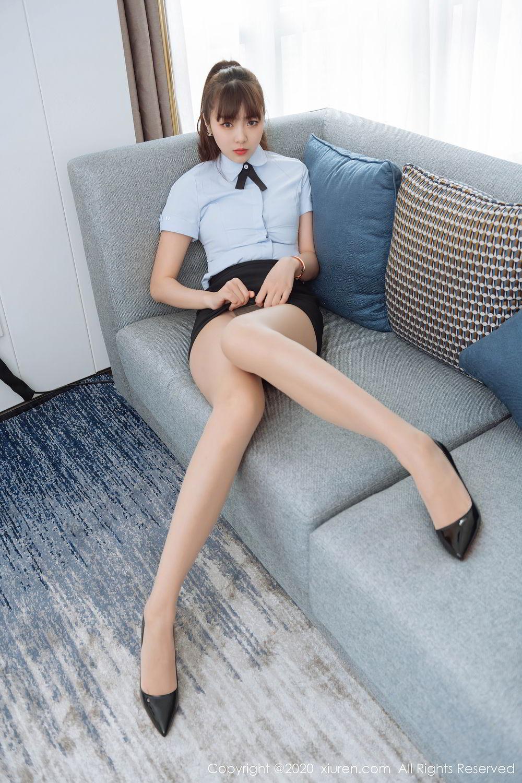 [XiuRen] Vol.2280 Ke Le Vicky 14P, Ke Le Vicky, Pure, Tall, Uniform, Xiuren