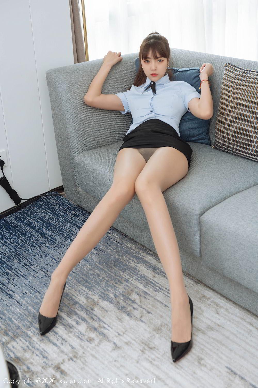 [XiuRen] Vol.2280 Ke Le Vicky 25P, Ke Le Vicky, Pure, Tall, Uniform, Xiuren