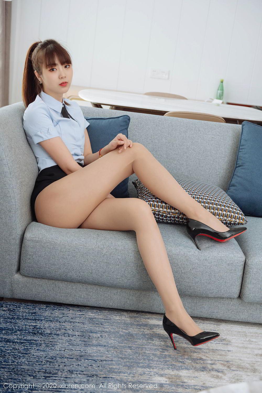 [XiuRen] Vol.2280 Ke Le Vicky 33P, Ke Le Vicky, Pure, Tall, Uniform, Xiuren
