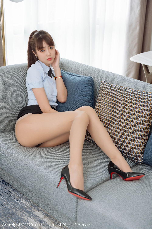 [XiuRen] Vol.2280 Ke Le Vicky 43P, Ke Le Vicky, Pure, Tall, Uniform, Xiuren