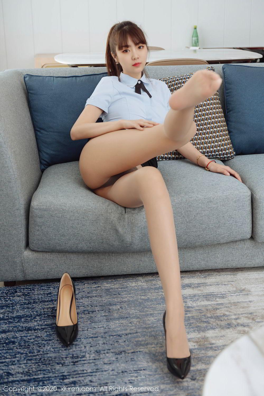 [XiuRen] Vol.2280 Ke Le Vicky 53P, Ke Le Vicky, Pure, Tall, Uniform, Xiuren