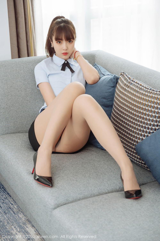 [XiuRen] Vol.2280 Ke Le Vicky 58P, Ke Le Vicky, Pure, Tall, Uniform, Xiuren