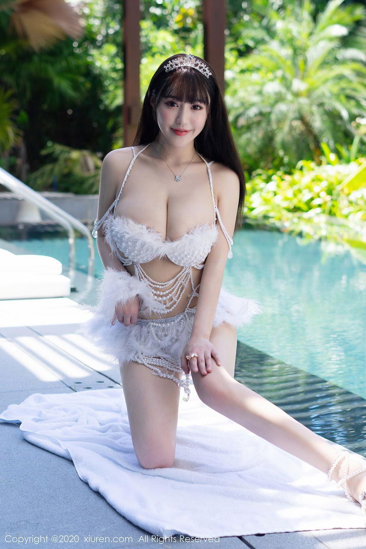 [XiuRen] Vol.2282 Zhu Ke Er Flower 11P, Bikini, Swim Pool, Xiuren, Zhu Ke Er